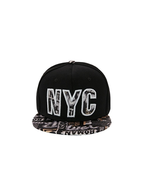 Laslusa NYC Hip Hop Snapback Şapka Siyah